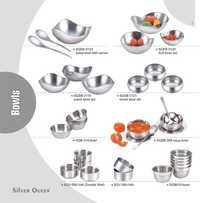 Stainless Steel Fruit Bowl Sets