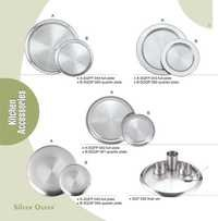 Stainless Steel Plate Sets