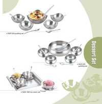 Stainles Steel  Pudding Sets