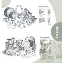 Stainless Steel Dinner Sets