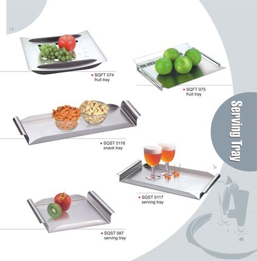 Steel Dry Fruit Tray