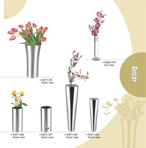 Steelcraft Elegant Flower Vase