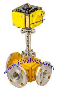 Three Way Ball Valves<