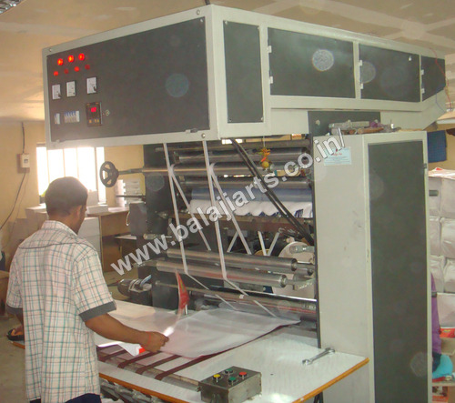 Single Plate Gumming Machine
