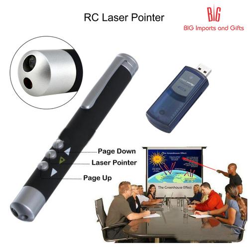 RC Slide Changer with Laser Pointer
