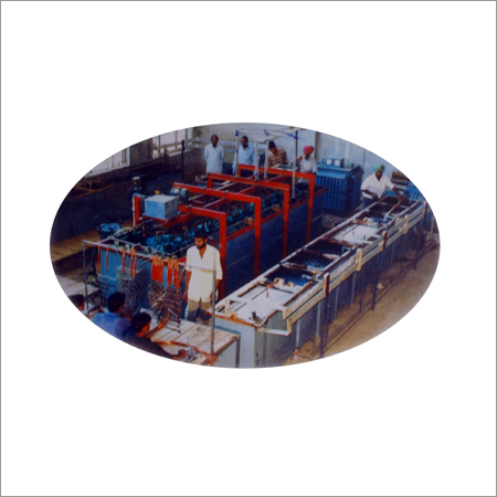 Semi Automatic Electroplating Line