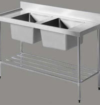 Dish Washing Equipment Two Sink Unit