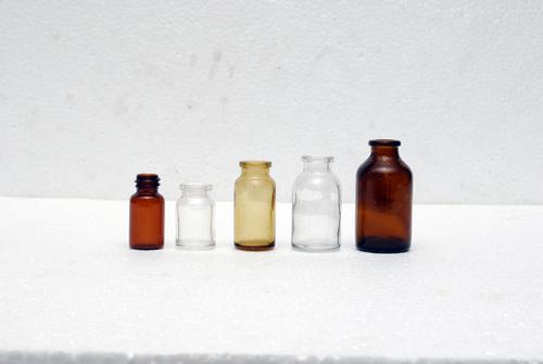 Glass vial bottle