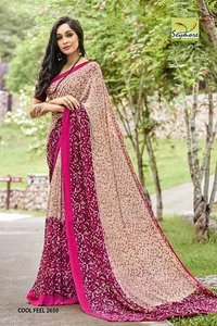 Fashionable Georgette Sarees