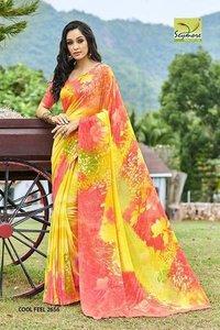 Big Print Saree