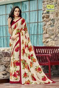Extraordinary Printed Saree