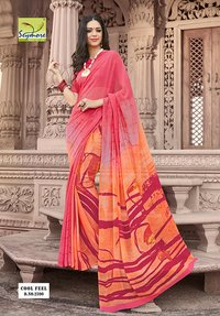 Wedding Printed Saree