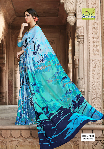 Stylish Printed Saree