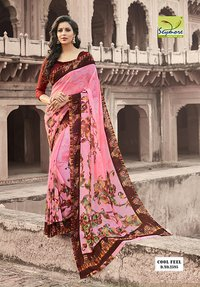 Simar Georgette Saree