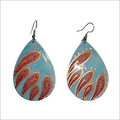 Designer Blue Earrings