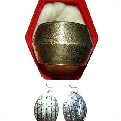 Silver Angular Earrings