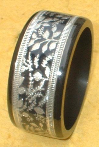 Bangle Brass resin combo ring