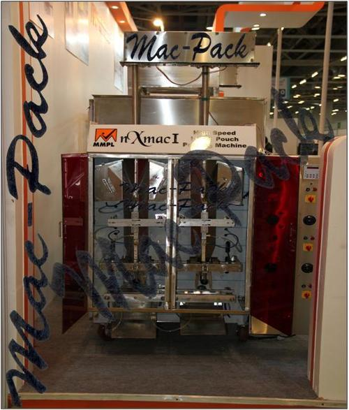 High Speed Mineral Water Pouch Filling Machine - High Speed