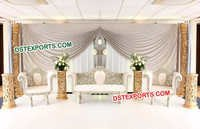 Latest Wedding Stage Sofa Set