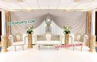 Latest Wedding Stage Sofa Set
