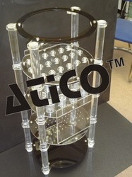 ACRYLIC DISTILLATION TRAINING TRAYS