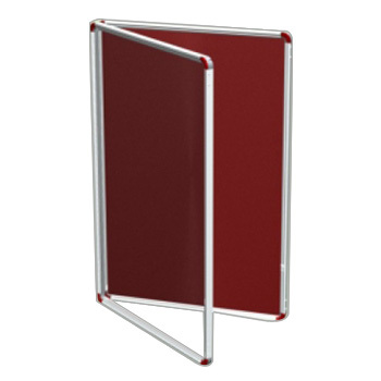 Notice Board With Acrylic Door
