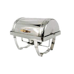 Elegant Rectangular Roll Top Chafing Dishes