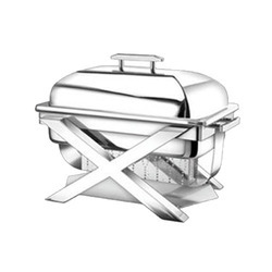 Rectangular Lift Top Chafing Dishes with X Model L