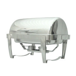 Rectangular Roll Top Imported Chafing Dishes