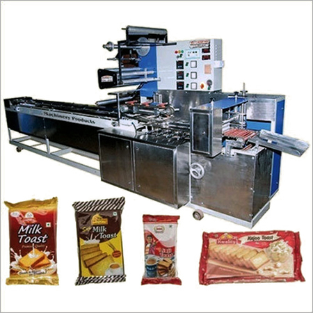 Biscuit Flow Wraps Packaging Machines