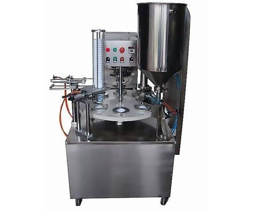 Semi Automatic liquid Filling Sealing Machine