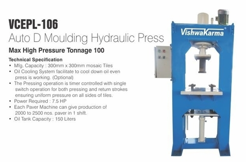 Auto D Moulding Hydraulic Press