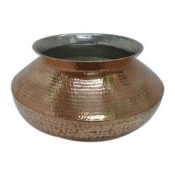 Copper Patili/ Degchi/ Handi