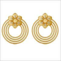 Gold Ring And Earrings