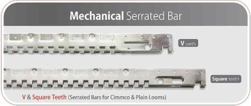 Mechanical Textile Serrated Bar