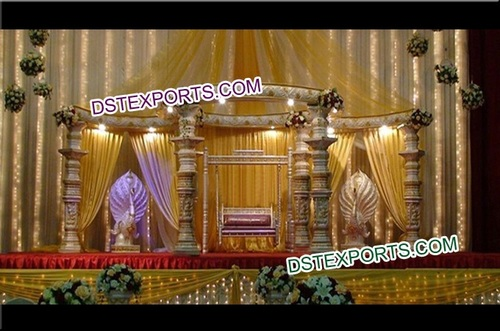 Beautiful Wedding Dev Mandap Set