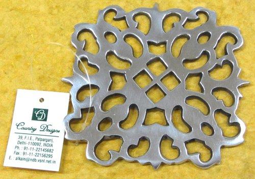Coaster metal perforated