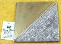 metal resin combo Coaster