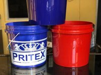 Colored Plastic Buckets