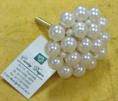 metal plastic beads combo  door knob