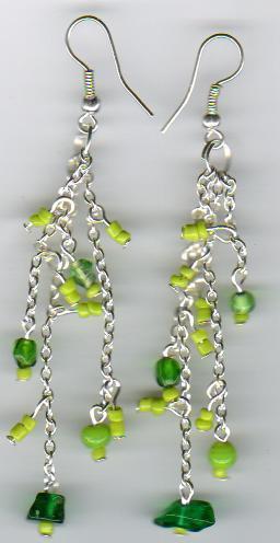 Designer Glass Beaded Earrings