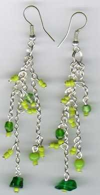 Designer Glass Beaded Earrings