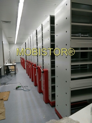 Customized Mobile Shelving System