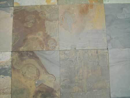 Multicolour slate / Kund multicolour slate