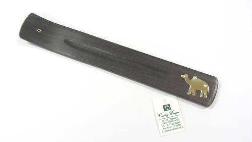 wood metal stamp Incense Holder