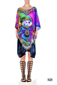 Digital Print Short Georgette Kaftan