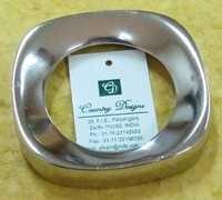 brass silverplated Napkin Ring