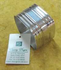 Aluminium Square Silver Plated Napkin Ring