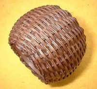 iron basket weave Napkin Ring