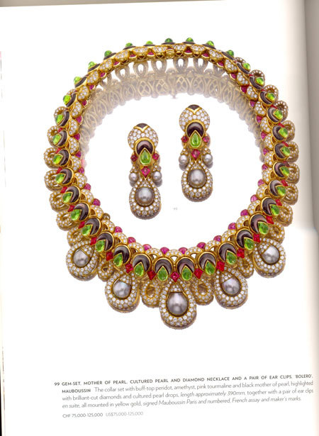 SOTHEBYGE JEWELLRY BOOK